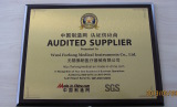 SGS Certificate Audited Supplier