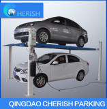 hdyraulic 4 post car lift with CE