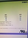 UL certificate of material