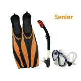 Professional Scuba Diving Snorkeling 4 pcs Sets