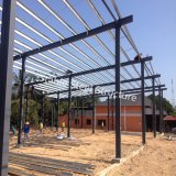 Thailand steel structure building with different spans
