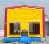 Modular Bounce House with Velcro Art Banners