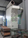 Dust colllector for plastic cutting machine
