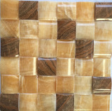 Mixed Color Natural Jade Stone Mosaic for Marble Tile
