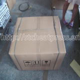 manual heat press machine with carton packing with 2 pieces drawstring