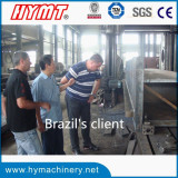 Brazil′s client visiting our factory for rolling & bending machine