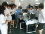 Leaning Laser machine