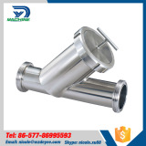 Sanitary Stainless Steel Y type Thread Filter