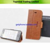 Mobile Phone Corium Leather Case for iPhone 5