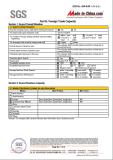 SGS Certificate 5-9