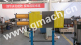 Large filtration area continuous screen changer
