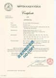 ClassNK Certificate