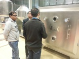 Customers from Bangladesh visit our factory