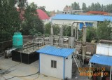 Batch type rubber refining pyrolysis plant in India