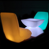 led stools tables for events, night clubs