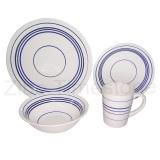 16pc Porcelain Dinnerware(617024)