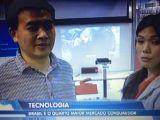 Interviewed by Brazil TV