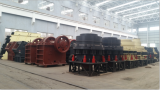 crushers ready for delivery in the workshop