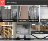Packing of bathroom furniture