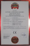 certificate for freezer