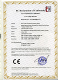 CE Certificate (LVD test ) For High bay light