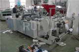 Double line side sealing bag making machine for printed bag