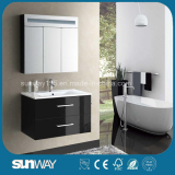 2014 Painting White MDF Bathroom Cabinet with Good Quality (SW-1313)