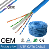 Sipu Factory Price CAT6 UTP Network LAN Cable for Ethernet