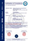 CE for Hydraulic Shearing Machine