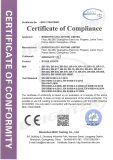 EMC Certificate of Par Light