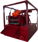 Pilling mud recycling shaker and tank system