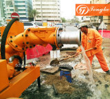Movable self priming pump for Dubai Municipal government