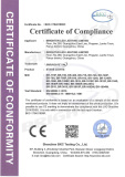 LVD Certificate of Wash Light