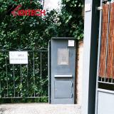 Door phone KNZD-06 kntech on site installation IP phones VoIP door phone