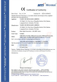 SPF+CE-EMC Certificate