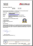SGS Certificate - 2013