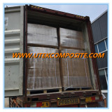 We exported two containers of Fiberglass Sandwich Mat today