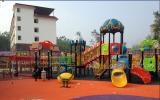 kid outdoor playground park equipment