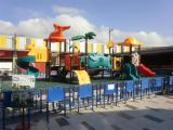 outdoor playground real case equipment photo