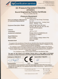 CE for water tank