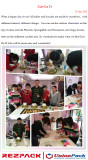 Group activity: Cake DIY on 21th March,2015