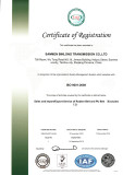 Certificate of Registration ISO