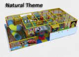 Narural Theme Kids Soft Playground