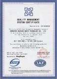 Quality Management System Certfication