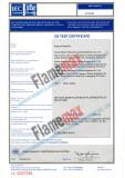 CB Certificate for Flamemax Popcorn Machines