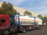 Tank container exported to Angola (Luanda) market