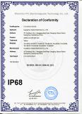 IP68 certificate of LED light bars