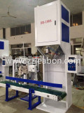 packing machine with sewing machine