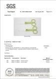 FDA Certificate(ceramic scissors & spoon)