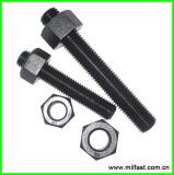 ASTM A193 GR B7 STUD BOLT/ ASTM A194 GR 2H HEAVY HEX NUT